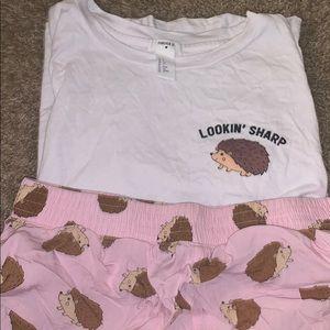 Looking sharp pajamas